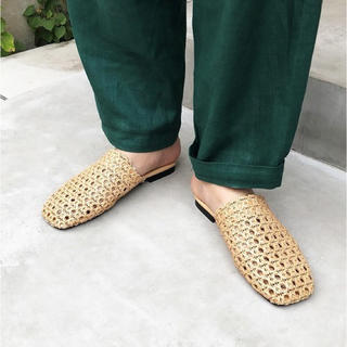 """TODAYFUL - todayful""""square mesh slipper"""""""