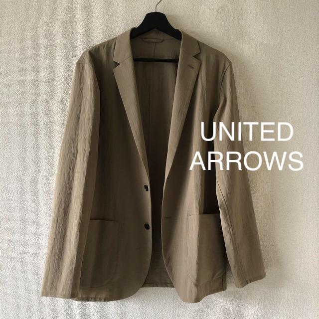UNITED ARROWS(ユナイテッドアローズ)の◆United arrows◆春夏メンズジャケット カーキベージュ メンズのジャケット/アウター(その他)の商品写真