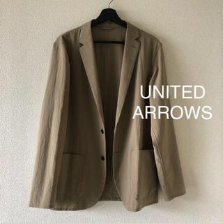 UNITED ARROWS - ◆United arrows◆春夏メンズジャケット カーキベージュ