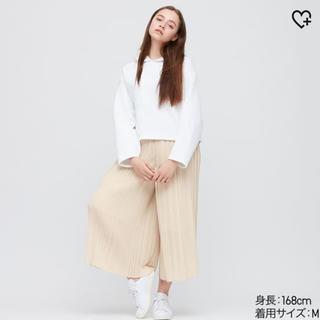 UNIQLO - シフォンプリーツスカート UNIQLO