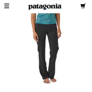 パタゴニア(patagonia)の新品 タグ付き パタゴニア シャバアサーナ パタゴニア 黒 ヨガ パンツ(ヨガ)