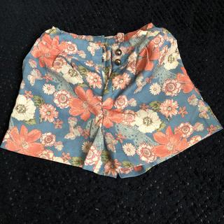 GU - GU 花柄ショートパンツ