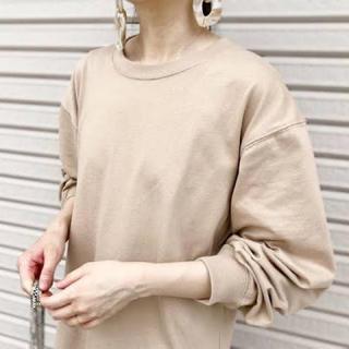 UNIQLO - UNIQLO コットンリラックスフィットクルーネックTシャツ