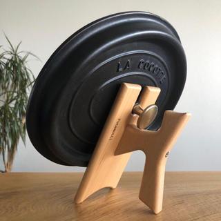 ストウブ(STAUB)のフタモッチ 101-L ストウブ バーミキュラ 用フタ置き 14〜26cm対応(調理道具/製菓道具)