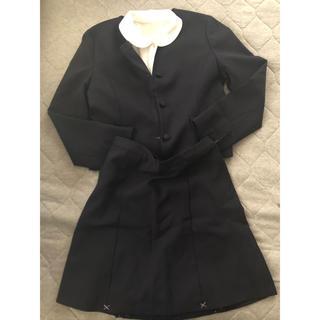 シマムラ(しまむら)のしまむら 160cm セレモニースーツ ネイビー 3点セット (ドレス/フォーマル)