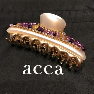 acca - acca 中クリップ【ミクロコスモ】/ アッカ