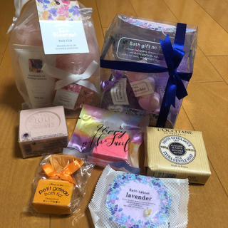 L'OCCITANE - 新品未使用 ロクシタン ボディーソープ bath gift ギフト 石鹸
