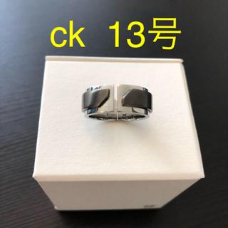 カルバンクライン(Calvin Klein)のリング 13号 レディース メンズ ck(リング(指輪))