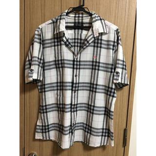 BURBERRY BLACK LABEL - ノバチェック柄、シャツ。