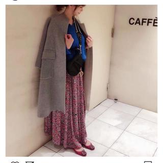 Drawer - ドゥロワーT-mat 花柄ティーマットスカート