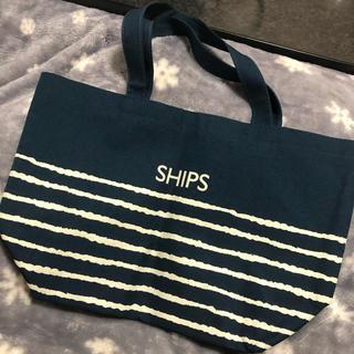 SHIPS - SHIPS トートバッグ/ランチバッグ
