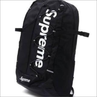 Supreme - シュプリーム Supreme 17ss 黒バックパック