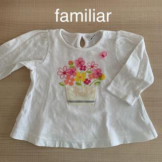 familiar - ファミリア トップス familiar 長袖Tシャツ familiar ロンT