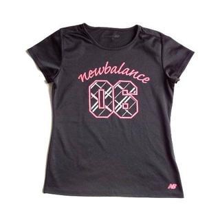 ニューバランス(New Balance)のニューバランス New Balance スポーツウェア 半袖 Tシャツ 黒 (Tシャツ(半袖/袖なし))