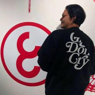 ジーディーシー(GDC)のGirls Don't Cry×CAREERING スウェット(スウェット)