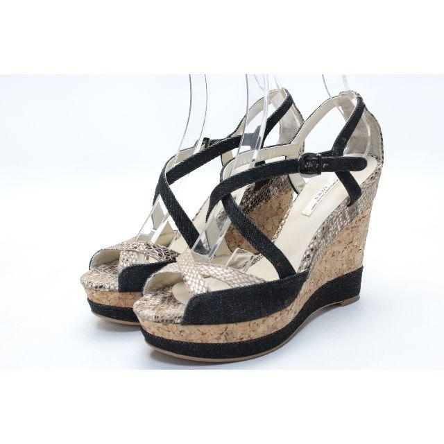VII XII XXX(セヴントゥエルヴサーティ)の65■VII XII XXX コルクウエッジサンダル(37)美品 レディースの靴/シューズ(サンダル)の商品写真