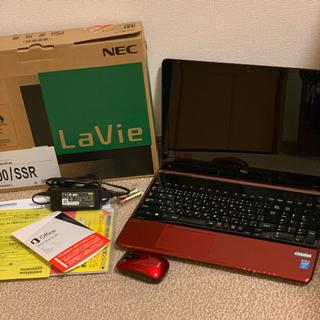 NEC - NEC LaVie S LS700/SSR 15.6型ワイド  ルミナスレッド