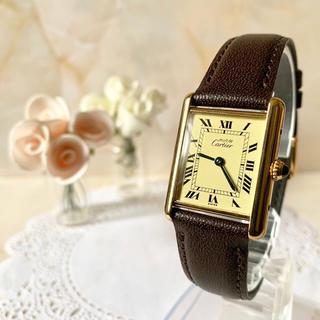 Cartier - 【電池交換済み】 Cartier カルティエ マストタンク 925 腕時計