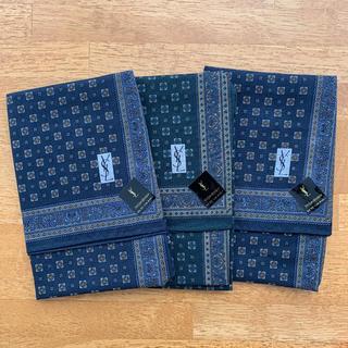 サンローラン(Saint Laurent)のハンカチ イヴサンローラン 3枚セット まとめ売り(ハンカチ/ポケットチーフ)
