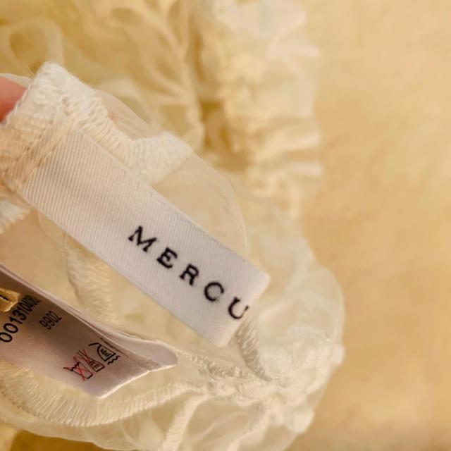 MERCURYDUO(マーキュリーデュオ)の マーキュリーデュオ♡ 花柄シースルートップス レディースのトップス(シャツ/ブラウス(長袖/七分))の商品写真