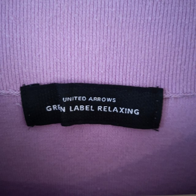 green label relaxing(グリーンレーベルリラクシング)のgreen label relaxing 薄手ニット レディースのトップス(ニット/セーター)の商品写真