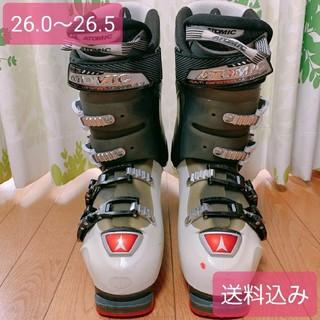 アトミック(ATOMIC)の【最終セール】ATOMIC スキーブーツ 26.0-26.5(ブーツ)