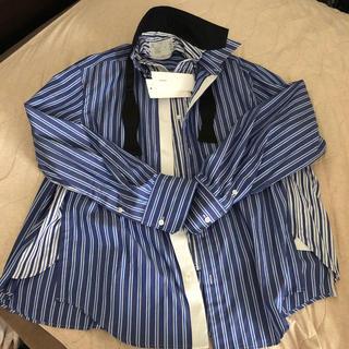 sacai - sacai 20ss ストライプ レイヤードシャツ 1