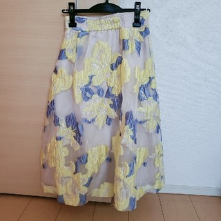 MERCURYDUO - ジャガードスカート