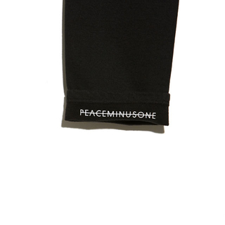 PEACEMINUSONE - PMO SWEAT PANTS #1 BLACK