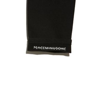 ピースマイナスワン(PEACEMINUSONE)のPMO SWEAT PANTS #1 BLACK (ワークパンツ/カーゴパンツ)