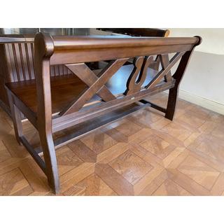 カリモク家具 - ダイニングテーブル用ベンチ(1台)