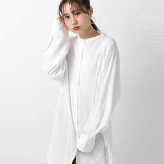 mystic - 人気完売★ mystic BACKリボンロングシャツ