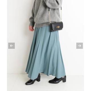 IENA SLOBE - [美品]SLOBE IENA  CHRADE 切り替えスカート