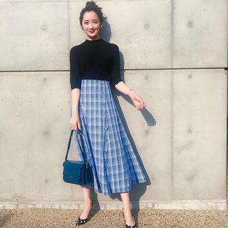 ZARA - zara♡チェックスカート S