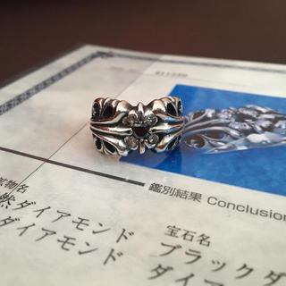 Chrome Hearts - 【20万以上】15号 ダイヤ クロムハーツ K&T リング カスタム