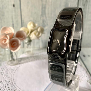 Q-pot. - 【未使用】Q-pot. キューポット 腕時計 メルティー チョコレート ブラック
