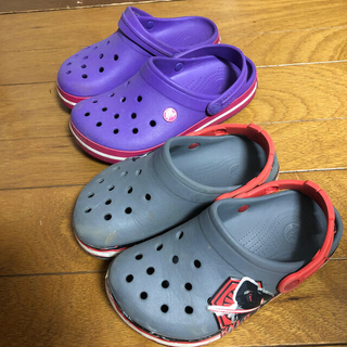 crocs - クロックス キッズサンダル2足