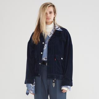 アンユーズド(UNUSED)のneon sign hipster jacket 16aw ネオンサイン(Gジャン/デニムジャケット)