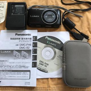 Panasonic - デジカメ パナソニック DMC S2 K ルミックス ケース付き 付属品完備