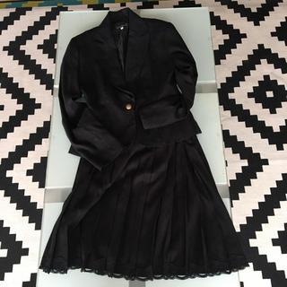 ニッセン(ニッセン)のLivre claire レディース  スーツ 上下 黒(スーツ)