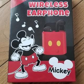 ディズニー(Disney)のミッキーワイヤレスイヤフォン(ヘッドフォン/イヤフォン)