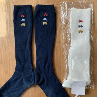 familiar - familiar ファミリア 靴下2足セット(新品+美品) 20cm色違い