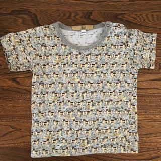 キャラメルベビー&チャイルド(Caramel baby&child )の海外ブランドgold 犬Tシャツ 86cm 18m(Tシャツ)