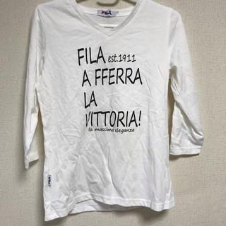 フィラ(FILA)のTシャツ 七分(Tシャツ(長袖/七分))
