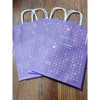 Starbucks Coffee - BTS  韓国スタバ コラボ 限定紙袋 4枚セット