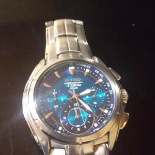 セイコー(SEIKO)のセイコー腕時計WIRED値下げしました(腕時計)
