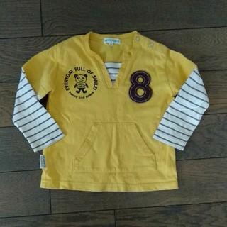 サンカンシオン(3can4on)の3can4on重ね着風Tシャツ90(Tシャツ/カットソー)