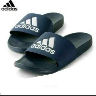 adidas - 送料込み新品 アディダス 黒 アディレッタ 26.5センチ ブラック black