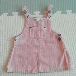 ZARA - ZARA baby コーデュロイジャンパースカート