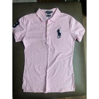 POLO RALPH LAUREN - Polo Ralph Lauren キッズXLポロシャツ ピンク 美品